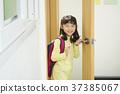 在教室 女孩 女 37385067