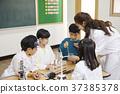 교사, 교실, 실험기구 37385378