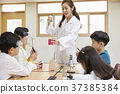 小學生,老師,韓國人 37385384