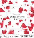 Valentine's day holiday background. 37386242