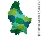 녹색, 아이콘, 벡터 37386397