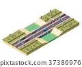 Vector isometric bridge 37386976