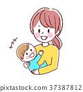媽媽 嬰兒 寶寶 37387812