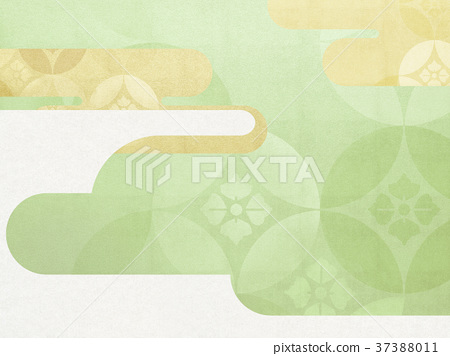 日本纸 - 日本模式 - 日式 - 背景 - 镀金 - 现代 37388011