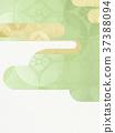 日本纸 - 日本模式 - 日式 - 背景 - 镀金 - 现代 37388094