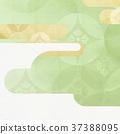 日本纸 - 日本模式 - 日式 - 背景 - 镀金 - 现代 37388095