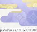 日本纸 - 日本模式 - 日式 - 背景 - 镀金 - 现代 37388100