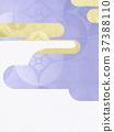 日本纸 - 日本模式 - 日式 - 背景 - 镀金 - 现代 37388110