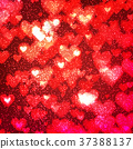 abstract background heart 37388137