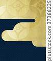 日本纸 - 日本模式 - 背景 - 镀金 - 现代 37388225