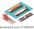 port, ship, shipping 37388369