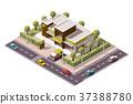 vector icon isometric 37388780