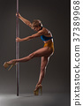 Female pole dancer 37389968