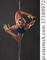 Female pole dancer 37389972
