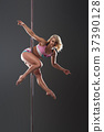 Female pole dancer 37390128