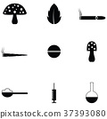 drug icon set 37393080