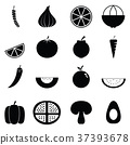 icon, vegetables, fruit 37393678
