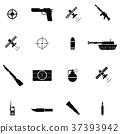 military icon set 37393942