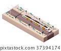 vector, Isometric, platform 37394174