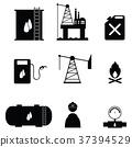 oil icon set 37394529