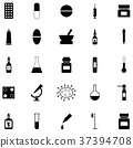 pharmacy icon set 37394708