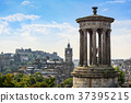 view of Edinburgh city from Calton Hill, Scotland 37395215