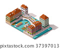 vector, building, Venice 37397013