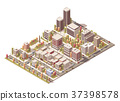Vector isometric city 37398578