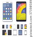 Vector generic smartphones and tablet 37398589