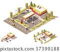 vector filling station 37399188