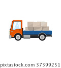 Small Cargo Truck Isolated 37399251