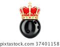 bowling, crown, 3d 37401158
