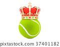 tennis crown 3d 37401182