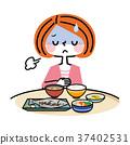 식욕 부진 여자 37402531