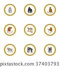 动物园 猴子 图标 37403793