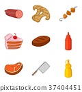 bakery cooking icons 37404451