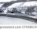 运输火车临时Hokuto Kiha 183系列倾斜的鼻子 37408619