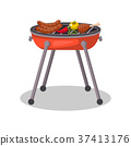 grill barbecue charcoal 37413176