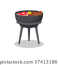 grill, barbecue, vector 37413186