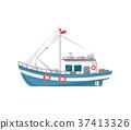 船 釣魚 捕魚 37413326