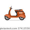 motorbike vector vespa 37413556