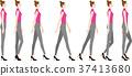 穿高跟鞋的女人 37413680