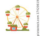 amusement ride ferris 37420619
