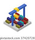 crane container cargo 37420728