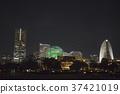 Yokohama Minato Mirai 21 night view 37421019