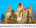 Bran Castle, Romania, known for the story of 37424016