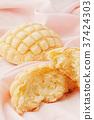 蜜瓜包 小甜麵包 丹麥甜糕餅 37424303