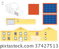 House Solar Thermal Collector Papercraft 37427513