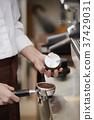 咖啡厅,咖啡师,韩国菜 37429031