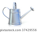 Metal watering can 3D 37429556